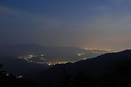 伊吹山ドライブウエイの夜景