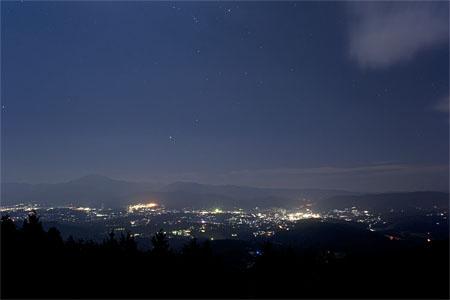 一望千金展望台の夜景