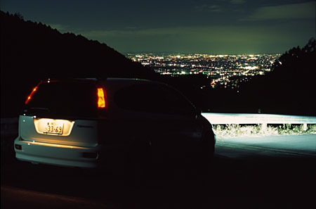 一乗寺の夜景