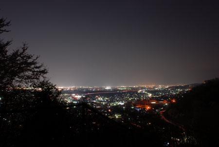 市川公園の夜景