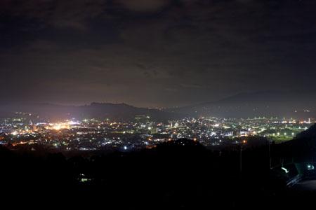 一関運動公園の夜景