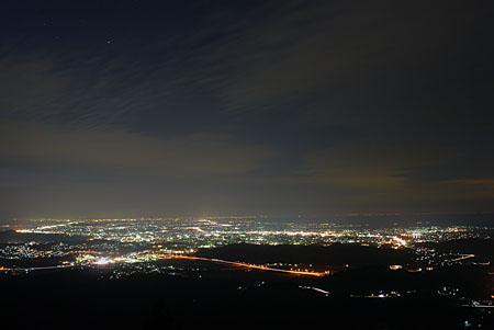 一宇田展望台 伊勢志摩スカイラインの夜景