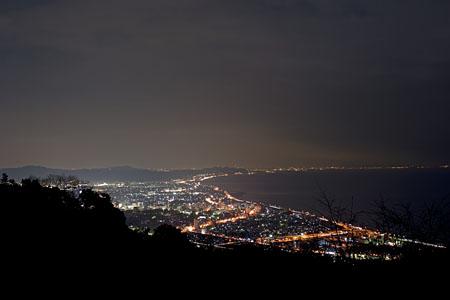 石垣山城の夜景