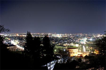 飯盛山の夜景