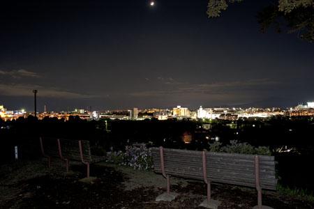 飯縄神社の夜景