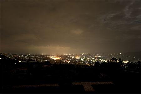 飯綱山公園の夜景