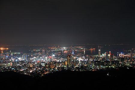 錨山の夜景