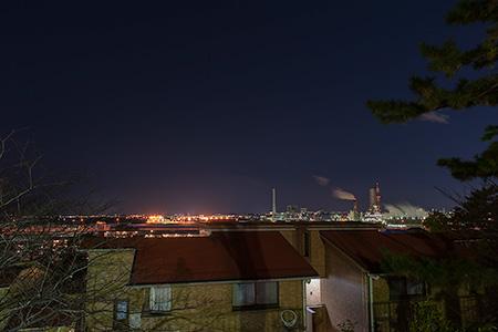 池袋公園の夜景