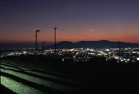 池田の夜景