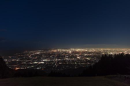 池田山の夜景