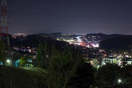イモ山公園の夜景