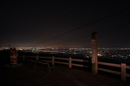 稲葉山の夜景