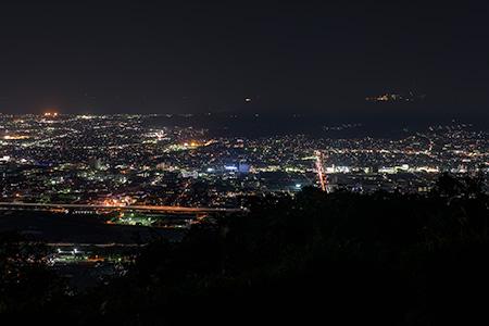 一本松公園の夜景