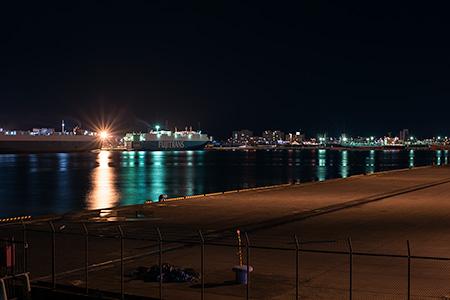入船公園の夜景