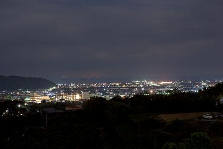 入野PAの夜景