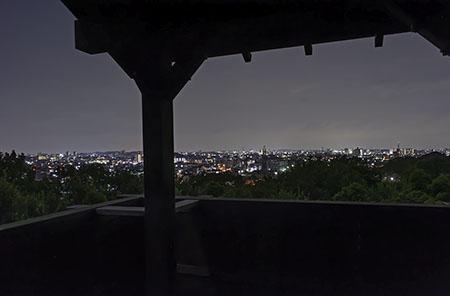色金山歴史公園の夜景