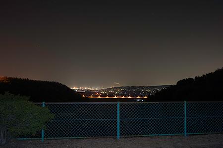 伊坂ダムの夜景