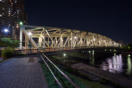 石川島公園の夜景