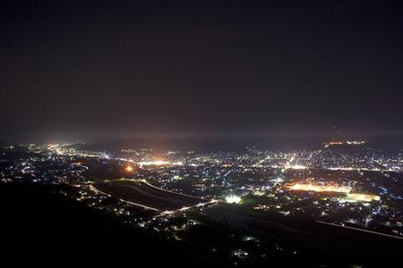 石槌神社の夜景
