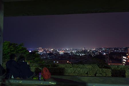 伊祖公園の夜景
