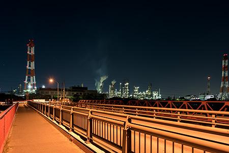 磯津橋の夜景