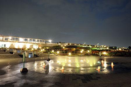 伊丹スカイパークの夜景