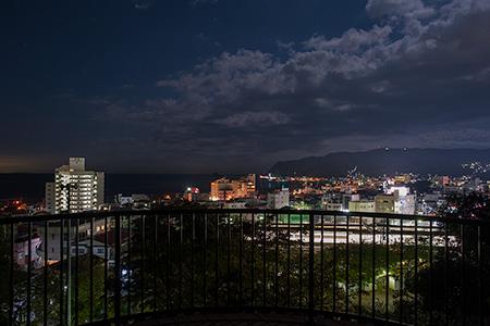 伊東公園の夜景