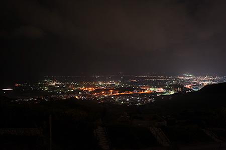 南上原糸蒲公園の夜景