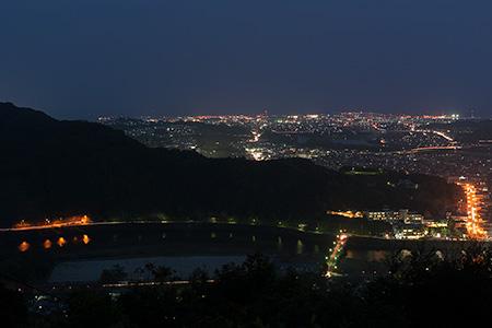 岩国山の夜景