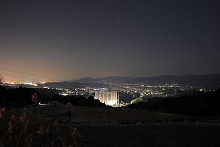 岩間山の夜景