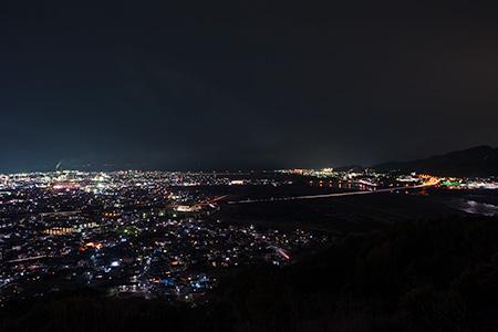 岩本山公園の夜景