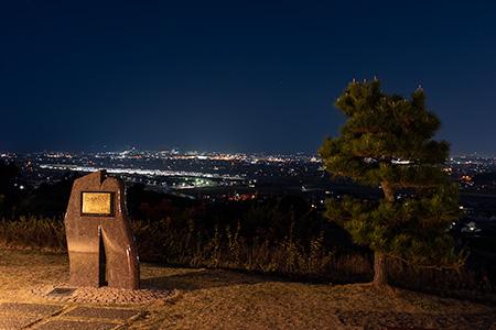 伊予灘SA(下り)の夜景