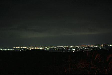 泉ヶ岳の夜景