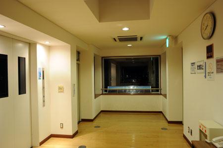 いずみの杜 展望室の夜景