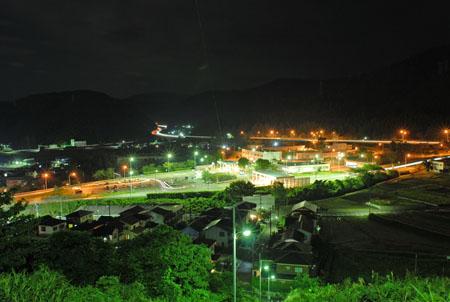 泉ヶ丘ニュータウンの夜景