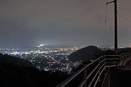 治国谷峠の夜景