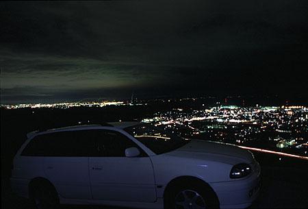 仁寿山の夜景