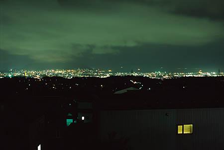 陣川の夜景