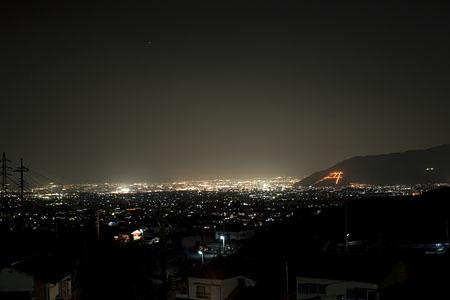 甚六桜公園の夜景