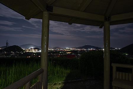 自由ヶ丘スポーツ公園の夜景