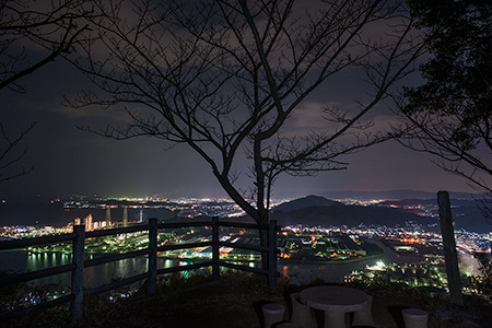 地蔵峰寺の夜景