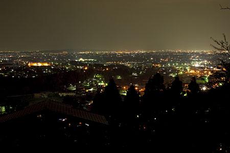 城ヶ山公園の夜景