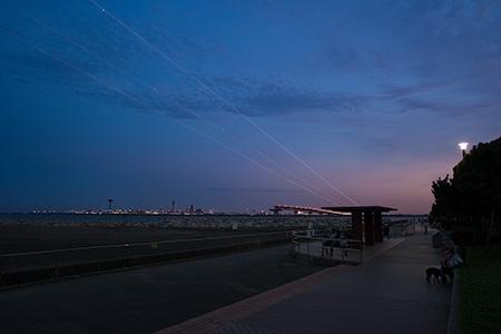 城南島海浜公園の夜景