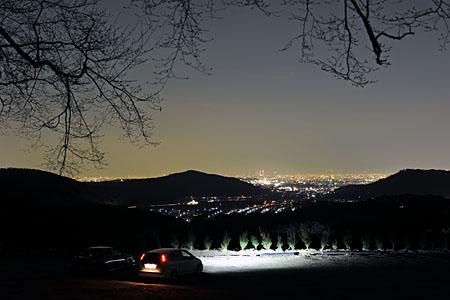 定光寺の夜景