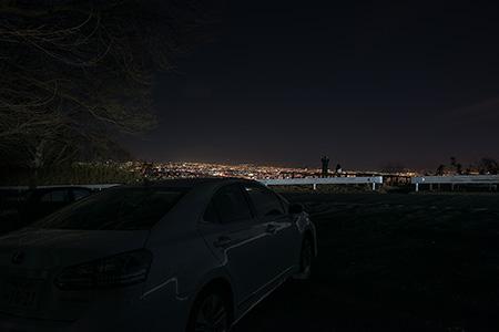 十三峠 信貴生駒スカイラインの夜景
