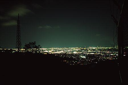 甲山の夜景