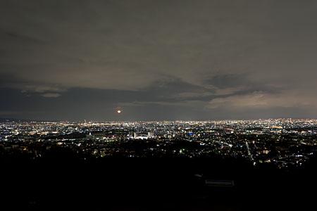 甲山森林公園の夜景