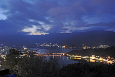 天上山公園の夜景