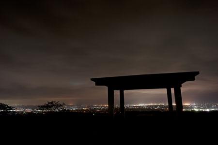 加護坊山の夜景