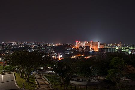 海軍壕公園の夜景